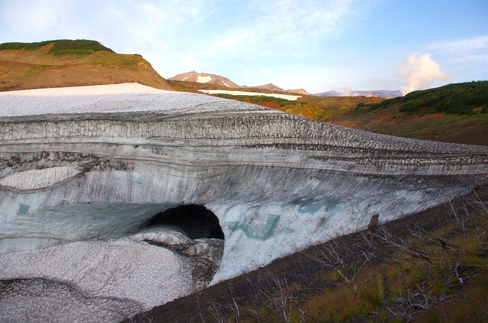 Sneznik, Glacier, Cave, Mountains, Nature, Landscape