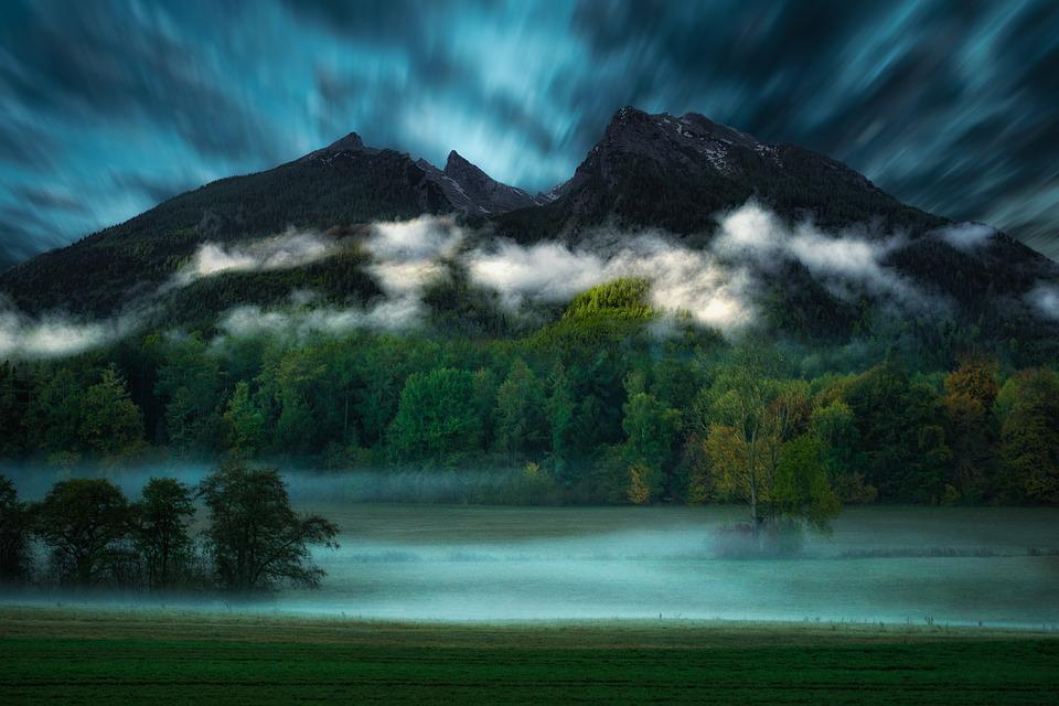 Mountains, Alpine, Landscape, Nature, Mountain, Summit