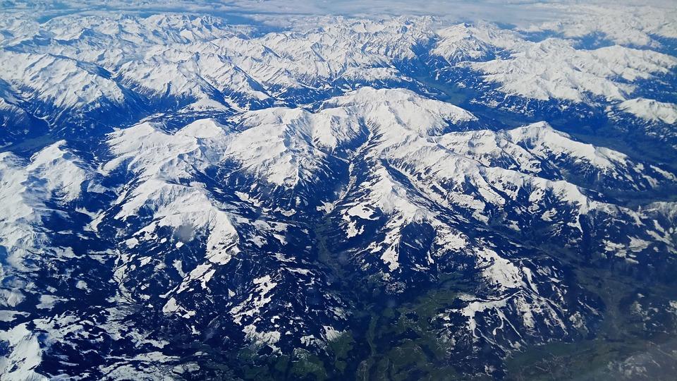 Snow, Mountains, Landscape, Winter, Nature, Outdoors
