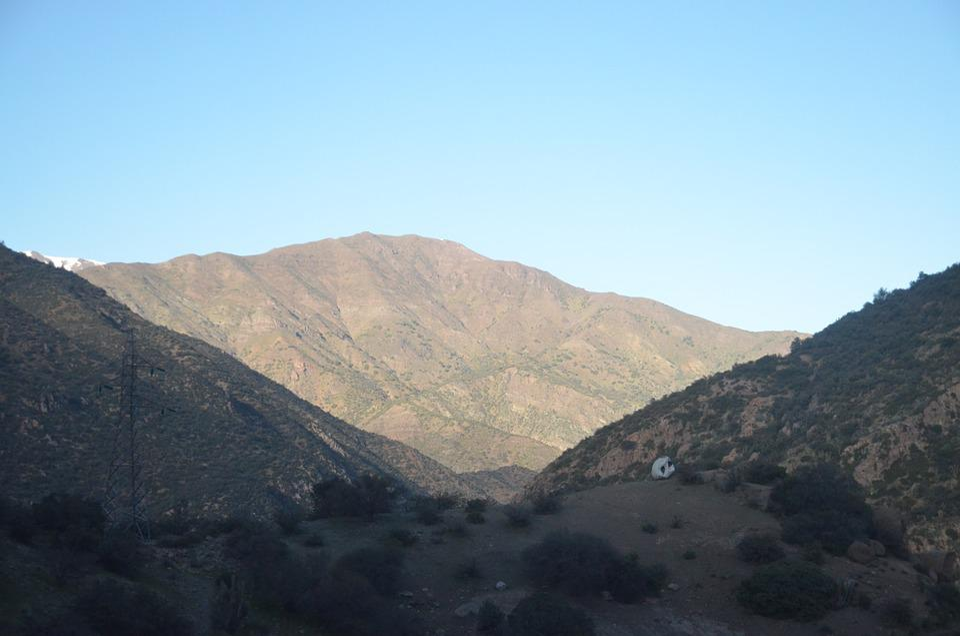 Mountains, Sky, Landscape, Nature