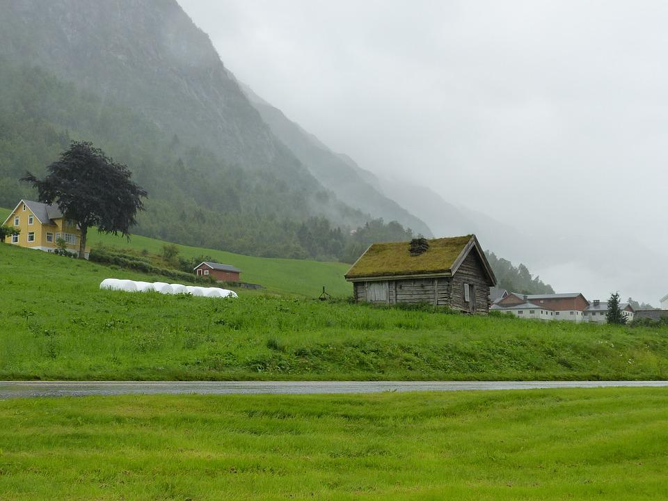 Olden, Norway, Mountains