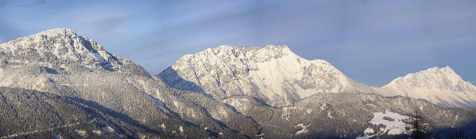 Panorama, Mountains, Dachstein Mountain, View, Outlook