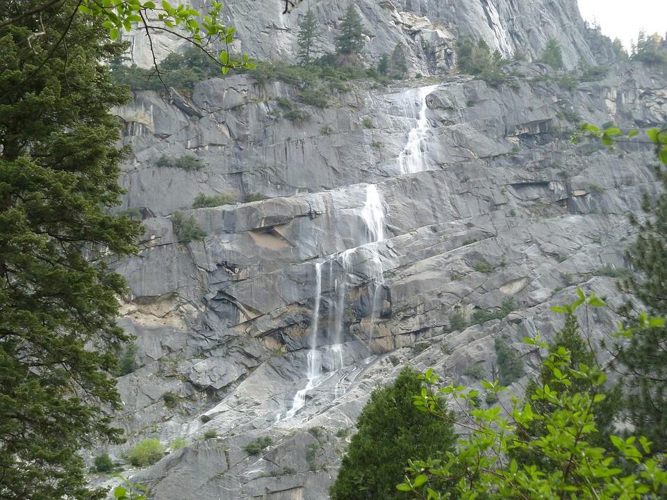 Yosemite, Mountains, Woods, Roadtrip, Nature, Park