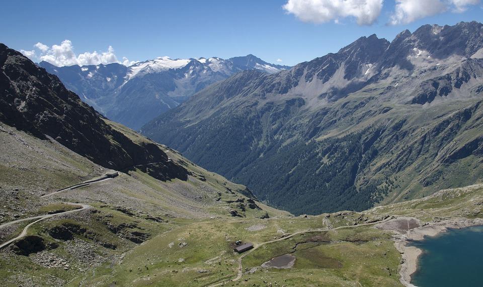 Passo Gavia, Mountains, Pass