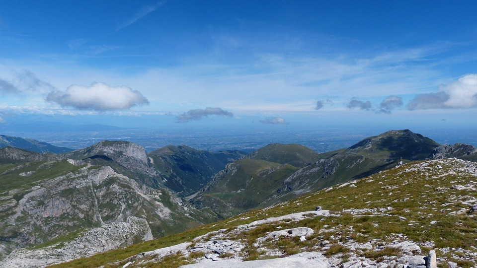 Mountains, Po Valley, Cima Della Saline, Mountain