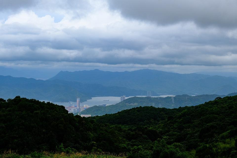 Yantian, Sanzhoutian, Mountains, Wutong Mountain