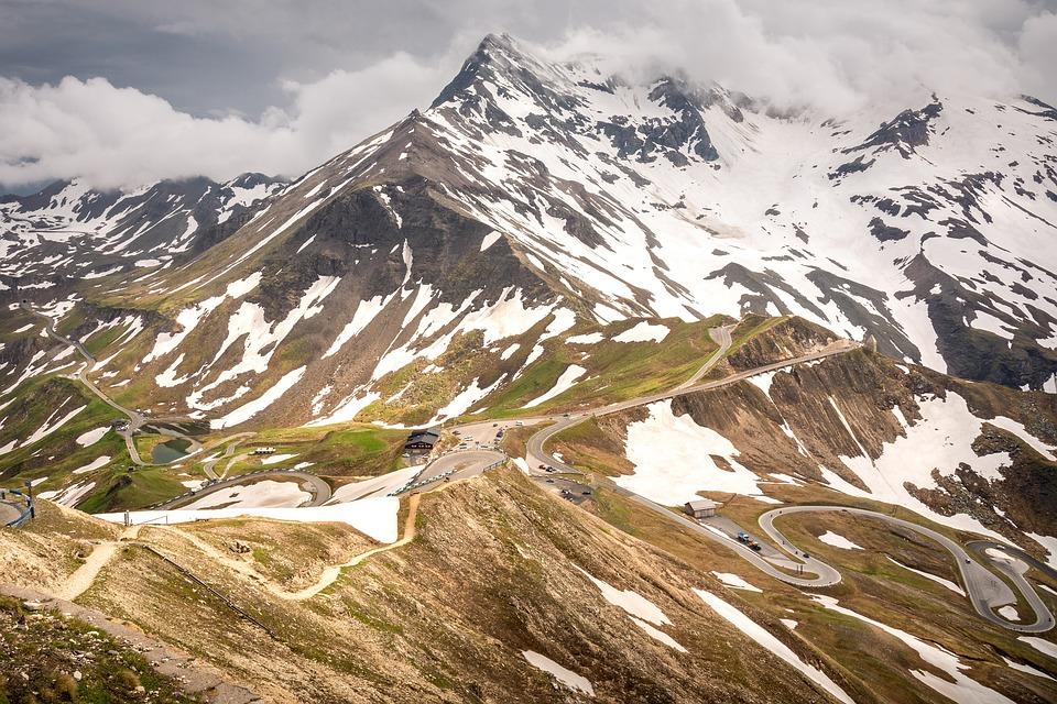 Alpine, Mountains, Serpentine, Mountain Landscape