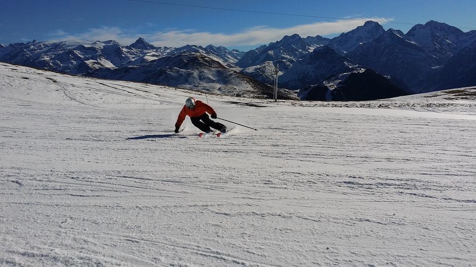 Ski, Skiing, Mountains, Ski Resort, Skier, Winter, Snow