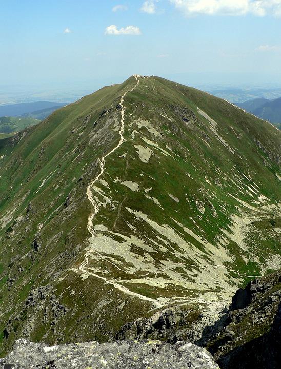 Slovakia, Tatry, Mountains, Roháče, Volovec, Mountain