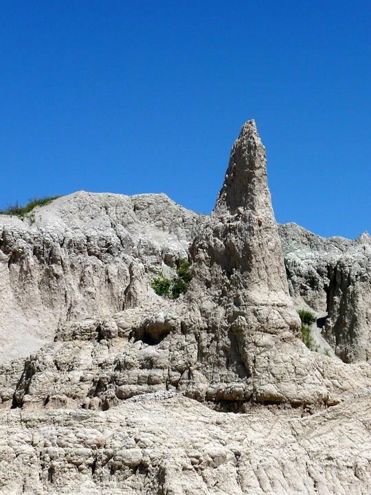 Badland, National, Park, Mountains, Usa, South Dakota