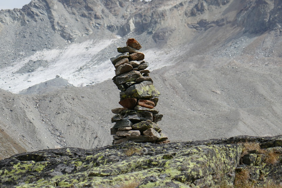 Mountains, Stone Sculpture, Nature, Stones, Cairn