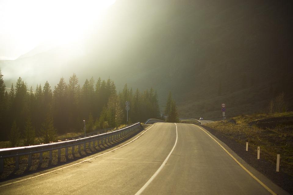 Mountain Altai, Russia, Summer, Travel, Mountains, Road