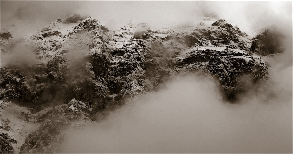 Mountains, Mountain, Switzerland, Alpine, Snow, Fog