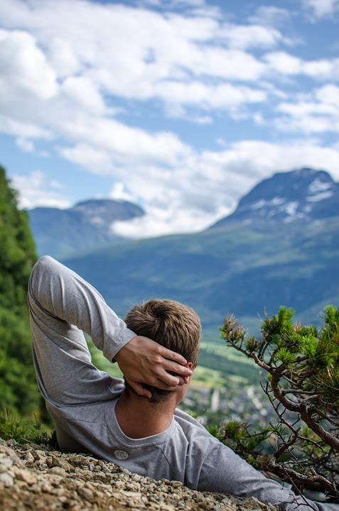 Relaxation, Mountains, Top View, Nature, Travel
