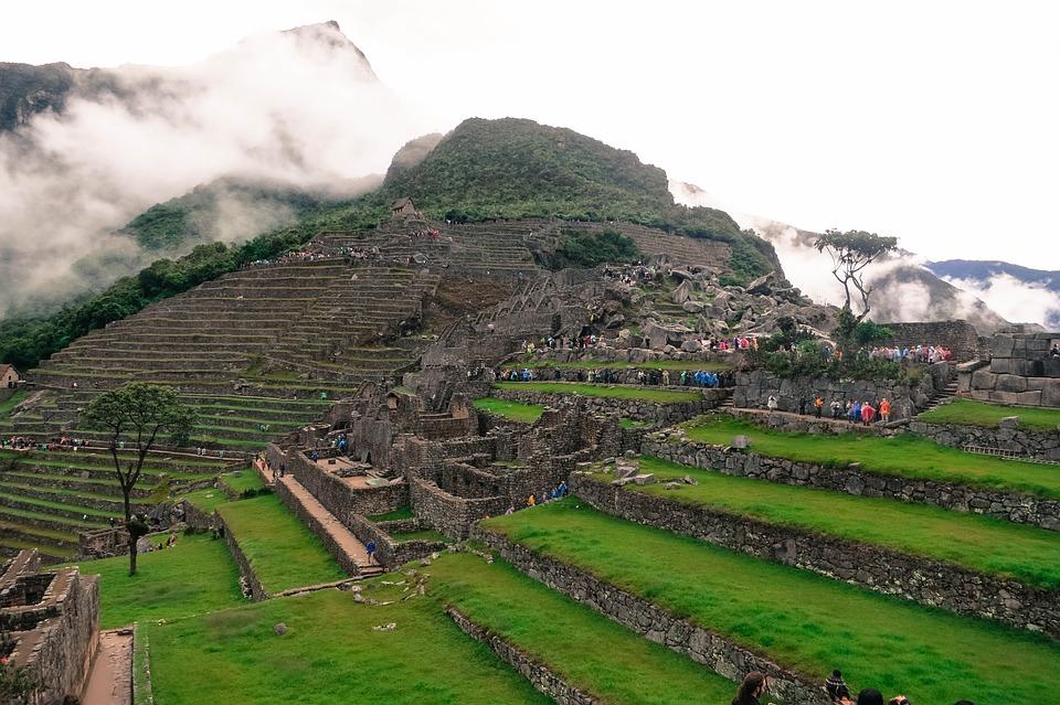 Mountains, Ancient, Architecture, Landmark, Tourism