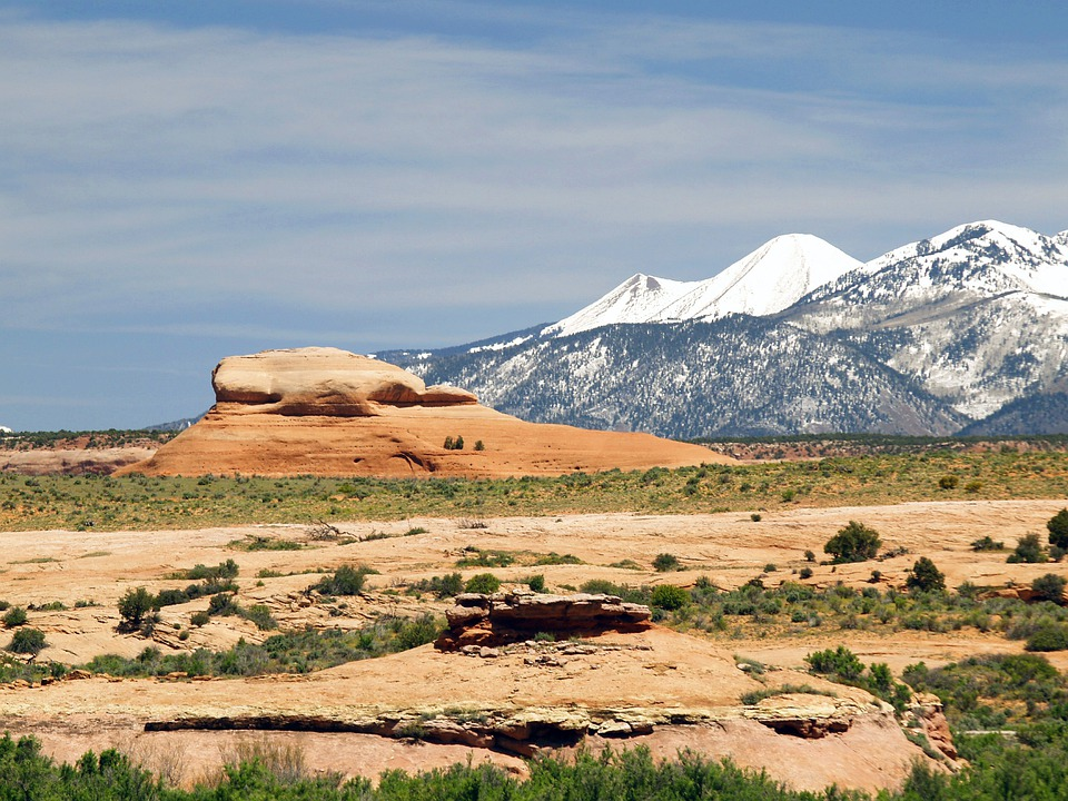 Mountains, Utah, Landscape, Wilderness, Scenery