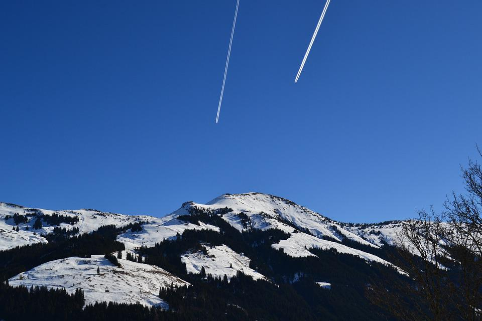 Aschau, Alpine, Winter, Sky, View, Mountains