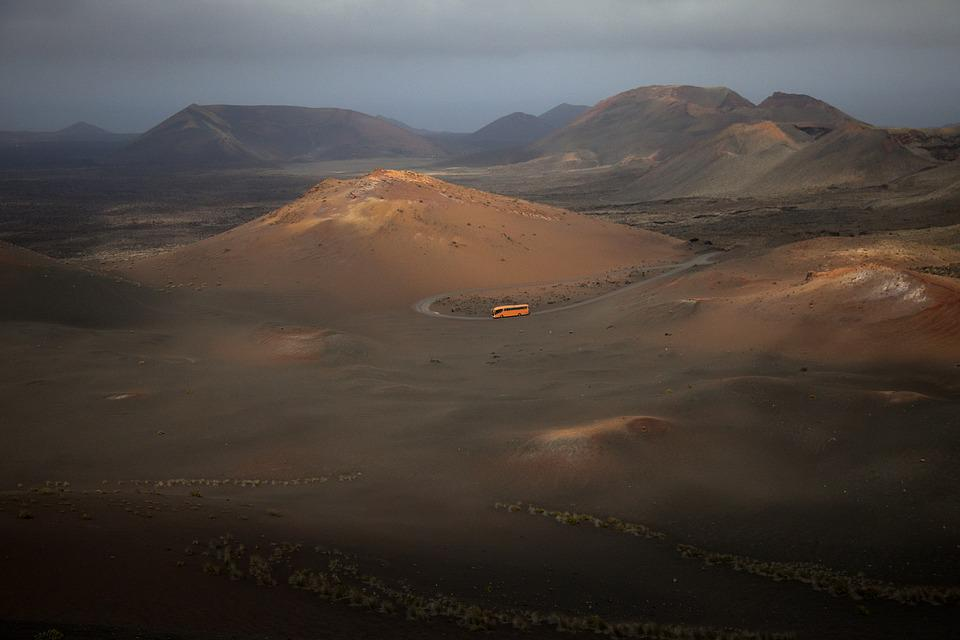 Lanzerote, Volcanic Landscape, Mountains, Nature