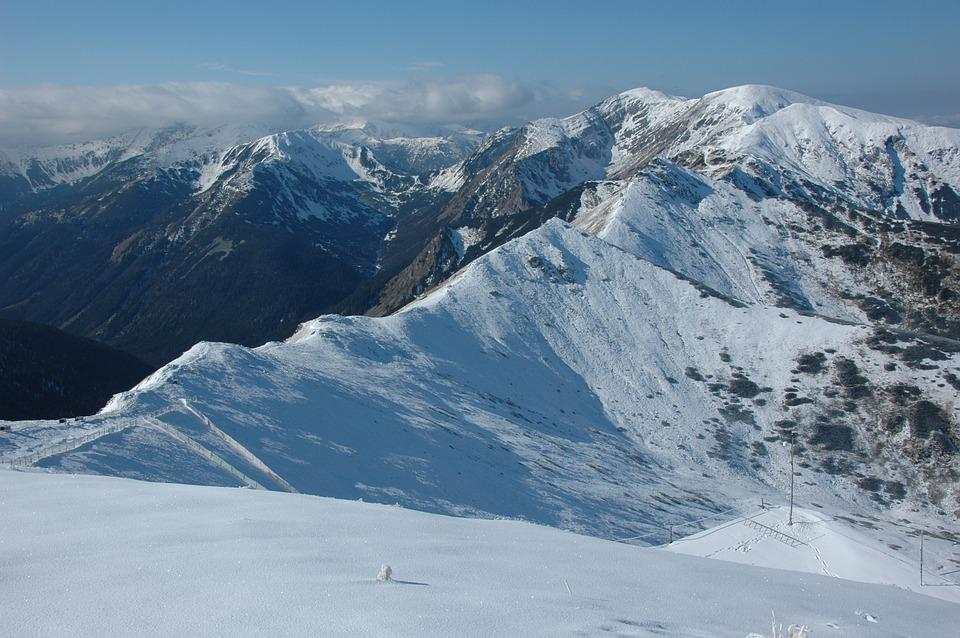 Tatry, Winter, Mountains