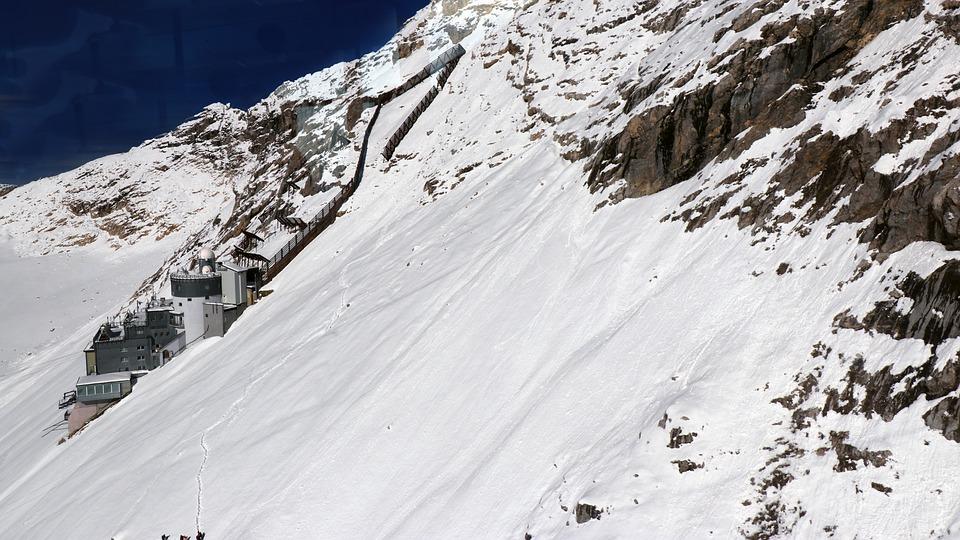 Zugspitze, Panorama, Sunshine, Mountains, Alps, Alpine