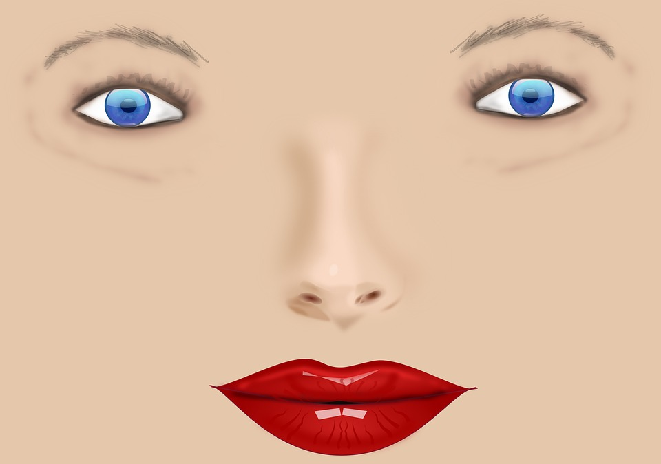 Face, Eyes, Mouth, Nose, Woman, Female