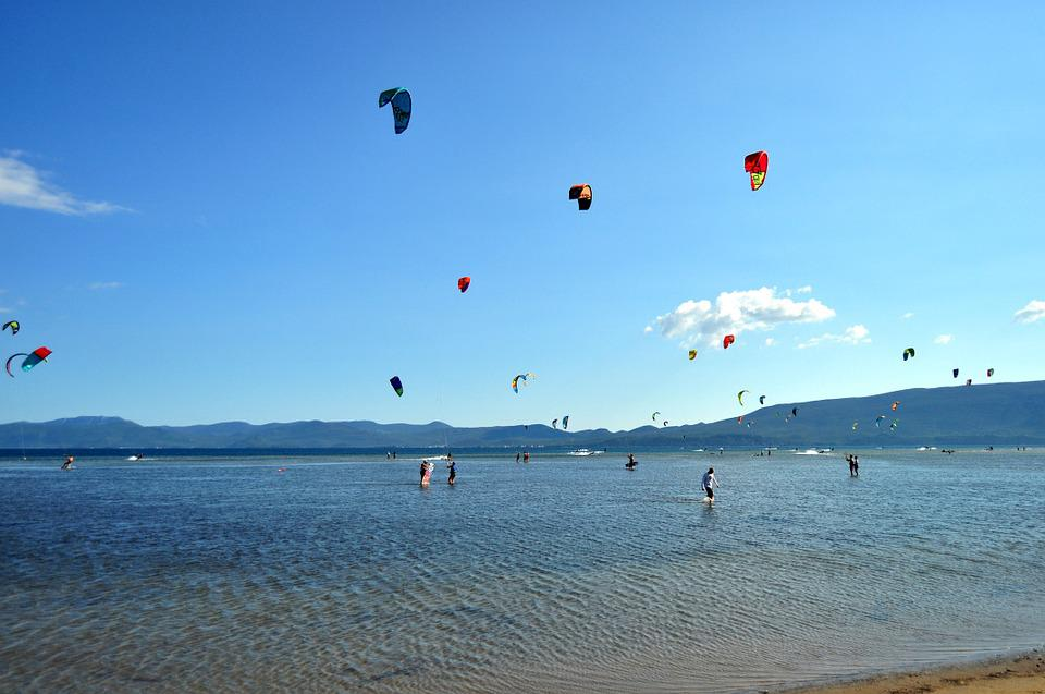 Kitesurfing, Mouth Of The Neretva, Neretva Delta
