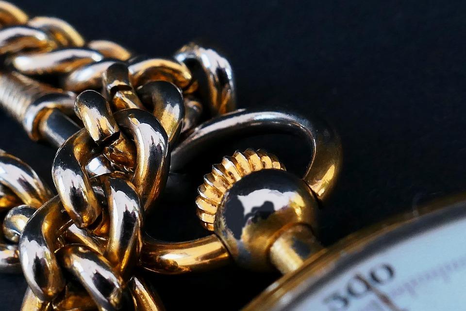 Clock, Pocket Watch, Movement, Crown, Winding Crown