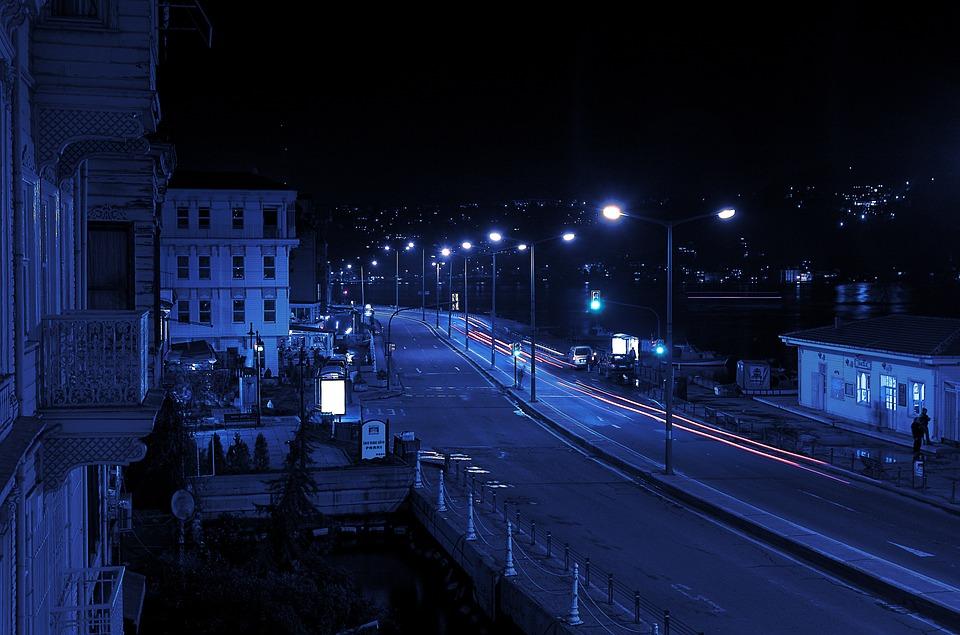 City, Traffic, Lights, Motion, Movement, Cars