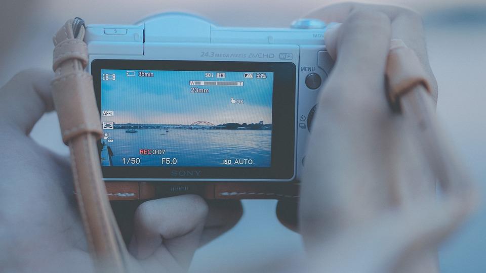 Camera, Hand, Dslr, Movies, Photo, West, People, Retro