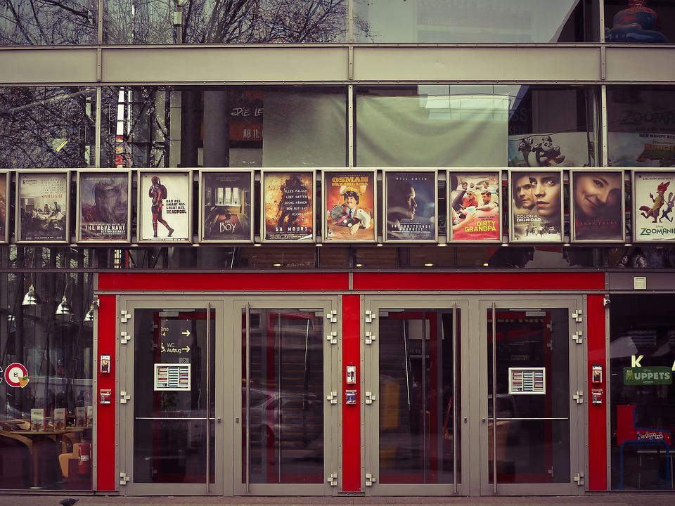 Cinema Movie Theater Movies Input Posters Doors & Free photo Movies Input Doors Posters Cinema Movie Theater - Max Pixel
