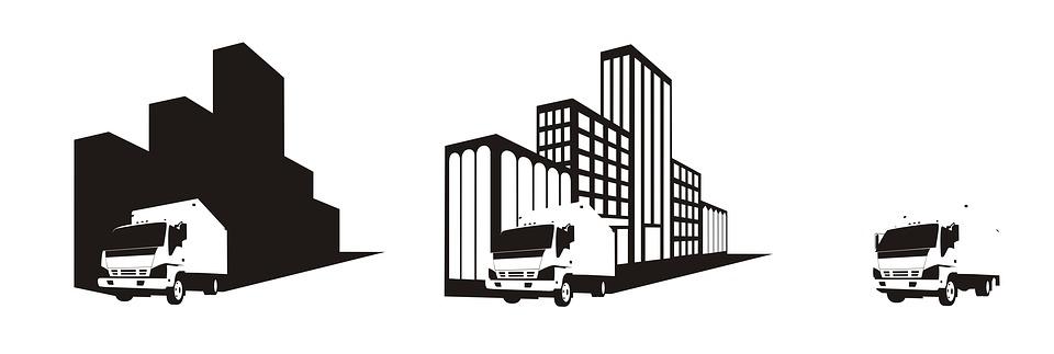 Van, Truck, Trucking, Icon, Moving, Car, Cargo