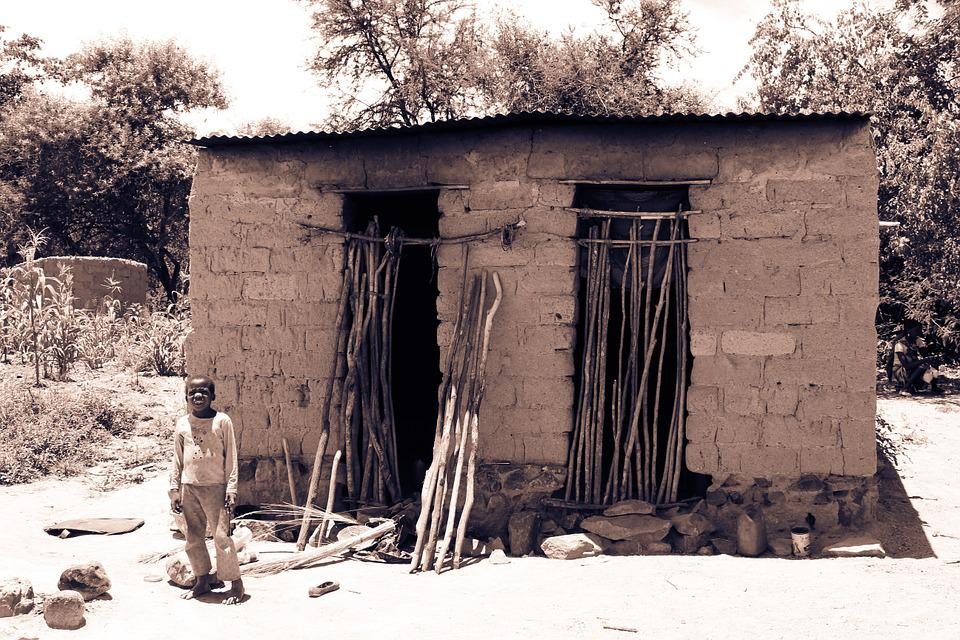 Mozambique, Poverty, Poor, Hovel, African, Black