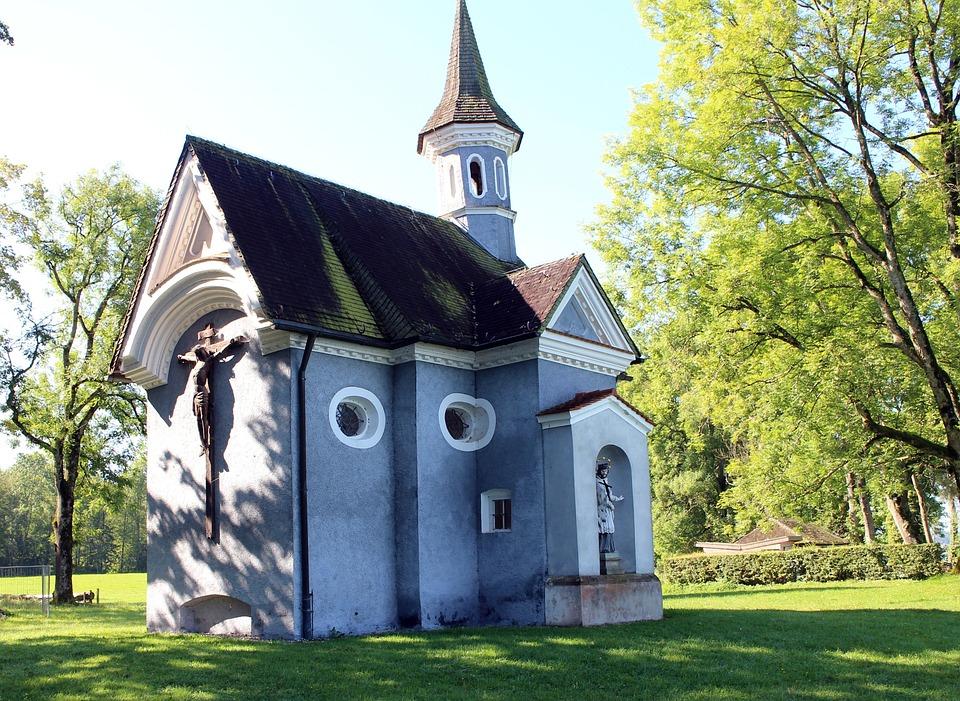 Chapel Of The Cross, Mr Island, Chiemsee, Chapel