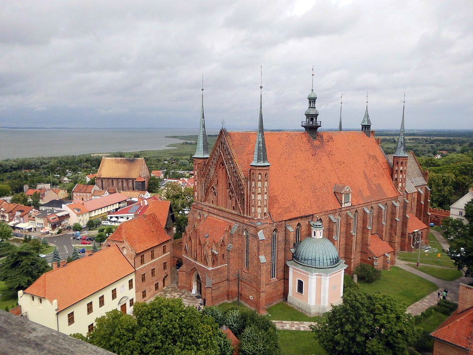 Mrs Burger Cathedral, Church, Frombork, Haaf