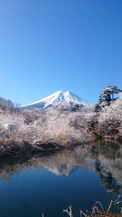 Mt Fuji, Blue Sky, Mountain, World Heritage Site