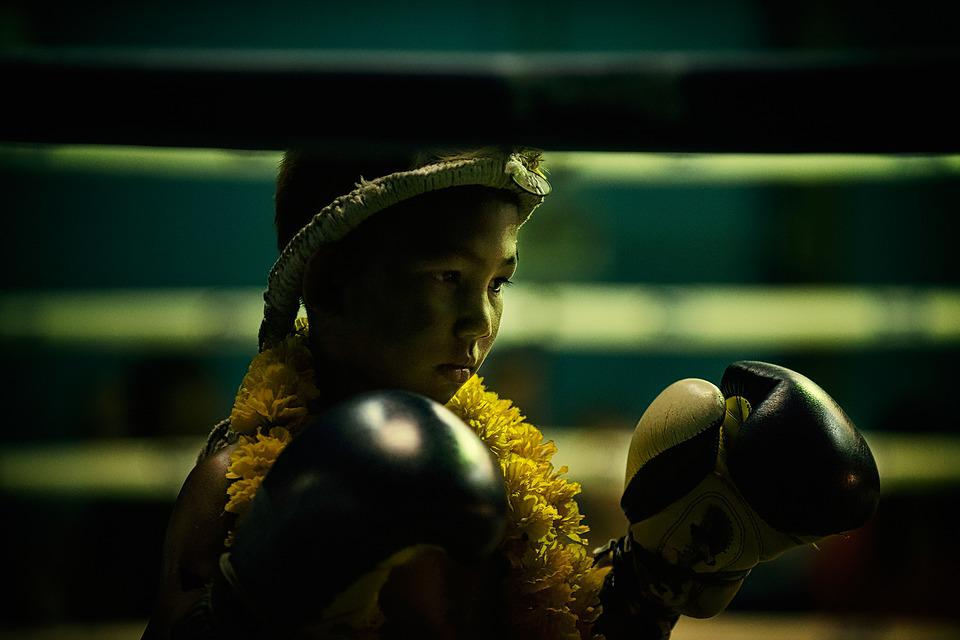 Muay Thai, Kids, Thailand, Martial Arts, Fighter
