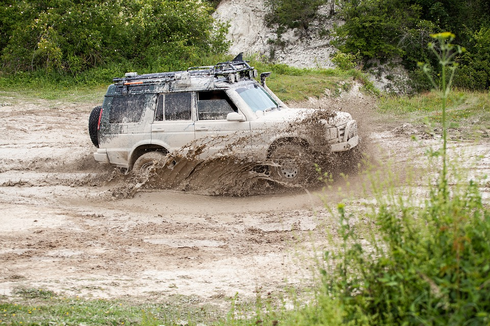 Off Road, 4x4, Mud, Adventure, Off-road, Driving
