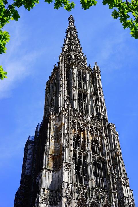 Ulm Cathedral, Münster, Ulm, Building, Dom, Tower