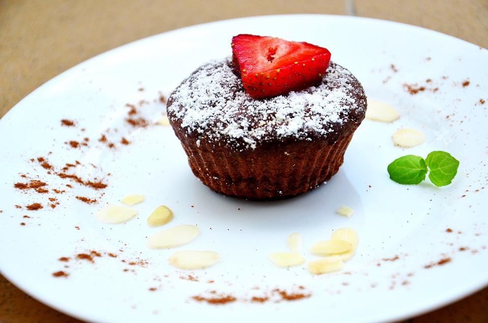 Cupcake, Pastry, Dessert, Strawberry, Chocolate, Muffin
