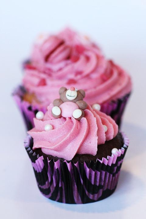 Cupcake, Muffin, Muffins, Cake Decorations, Cream