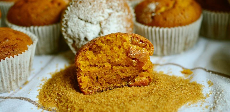 Muffins, Pumpkin Muffins, Pastries, Bake, Cake