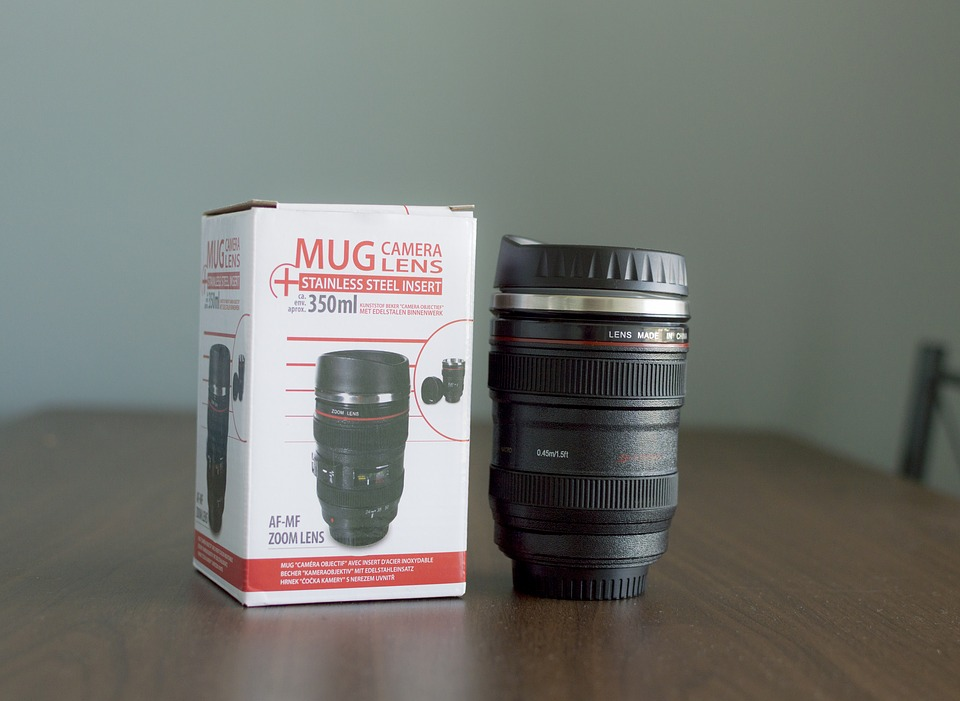 Mug, Drink, Box, Objective, Picture, Device