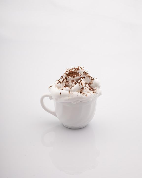 Mug, Drunk, White, Drink, Whipped Cream, Coffee