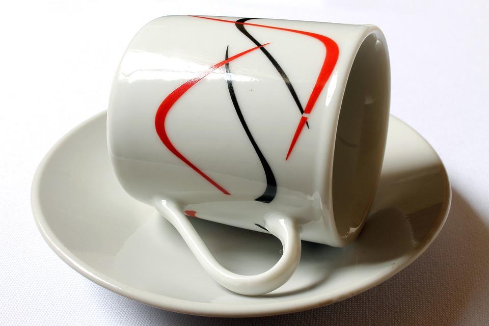 Cup, Mug, Set Coffee, Cup Of Coffee, Porcelain Cup