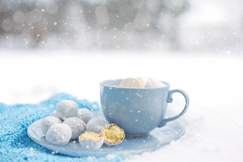 Hot Chocolate, Cozy, Winter, Dessert, Warm, Snow, Mug