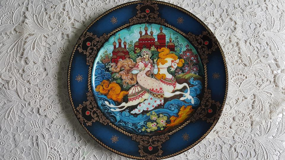 Epic, Porcelain, Summer, Plate, Multicolored