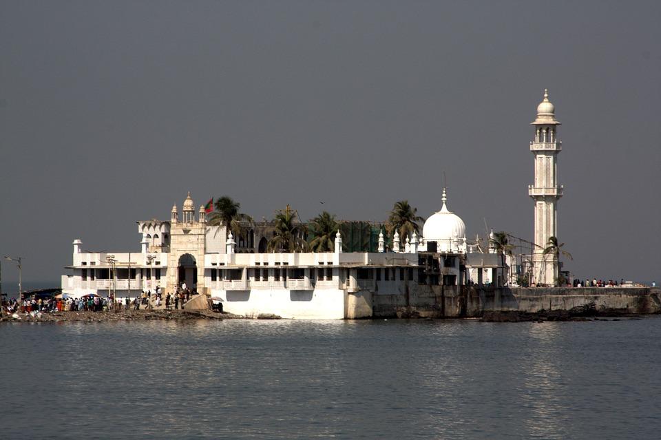 Haji Ali Shrine, Mumbai, Bombay, Muslim, Islamic, India