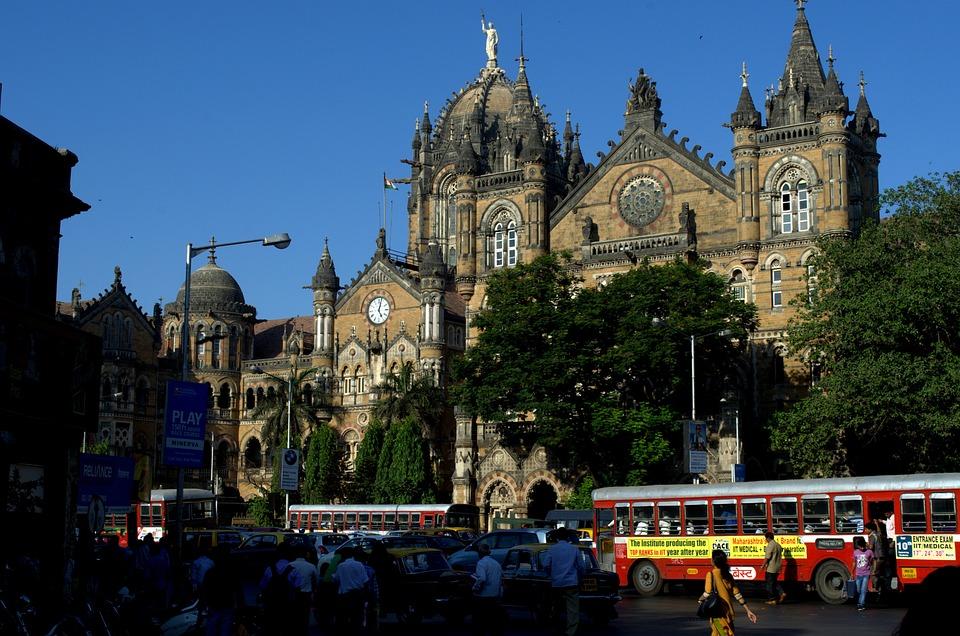 Victoria Station, Mumbai, Cst, Train Station