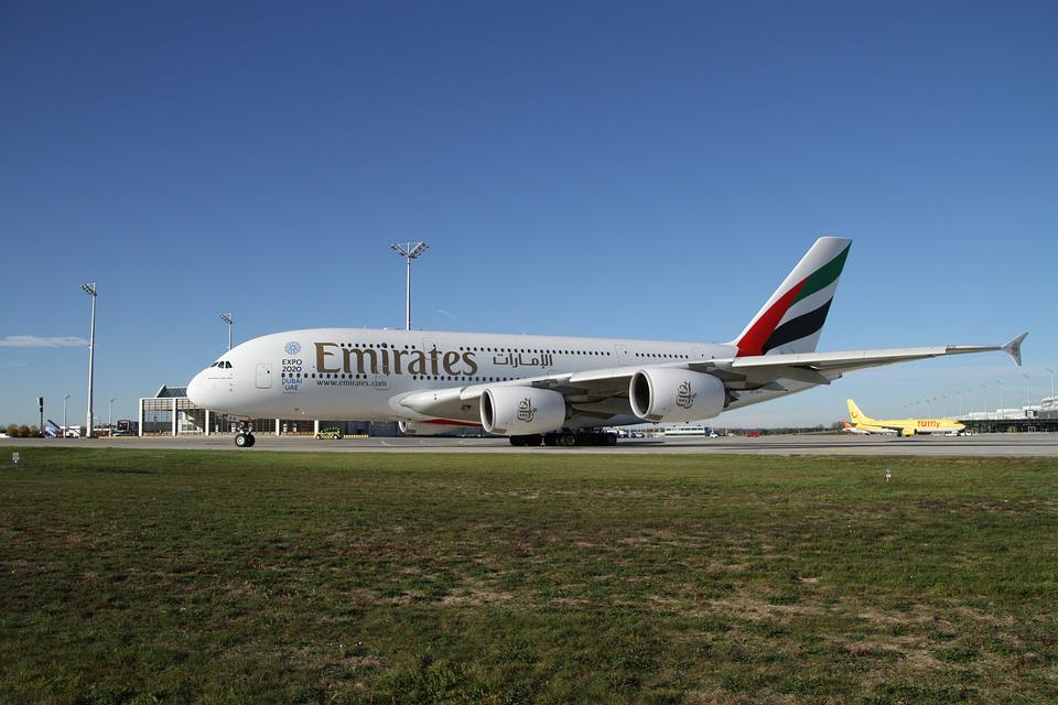 Airbus, A380, Aircraft, Munich, Airport, Airliner