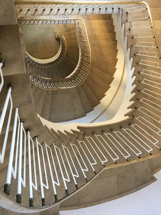 Munich, Architecture, Rise, Old, High, Spiral